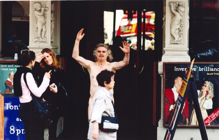 Picture Gallery | Comic Relief Billy Connolly skipped naked round Piccadilly Circus.
