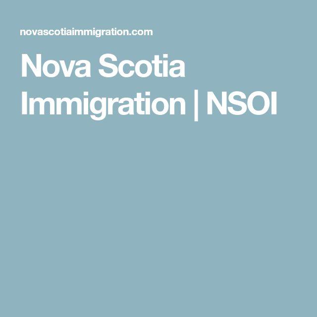 Nova Scotia Immigration | NSOI