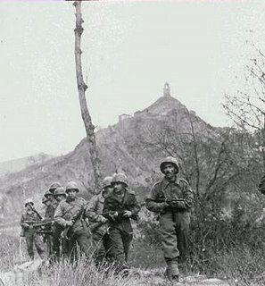 Brazilian patrol in Torre di Nerone