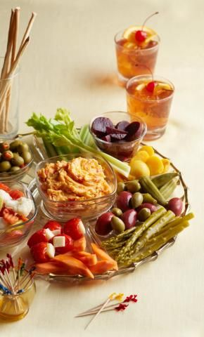How to build a Relish Tray Classic and Modern