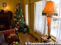 A Christmas Story House    Cleveland, Ohio    Exterior set for the holiday movie is a fan pilgrim site and museum.