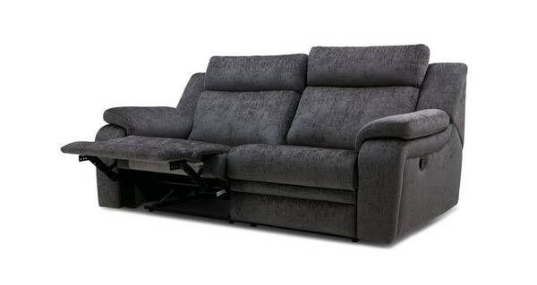 Wondrous Barrett 3 Seater Manual Recliner Barrett Plain Dfs New Machost Co Dining Chair Design Ideas Machostcouk