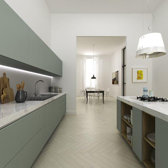 Contemporary minimalistic apartment in Florence by Filippo Carandini Studio
