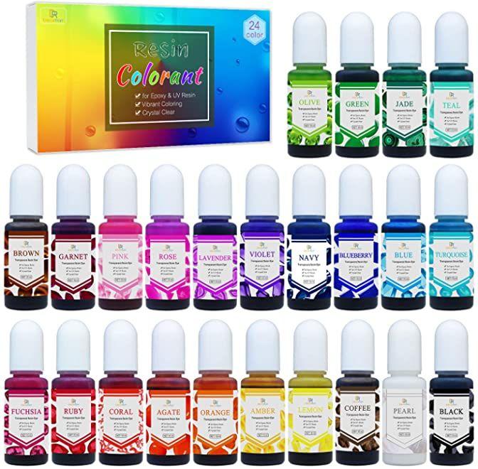 Amazon Com Decorrom Epoxy Resin Color Pigment Diy Resin Art Resin Diy Resin Art