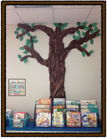 how to make a large paper tree for classroom