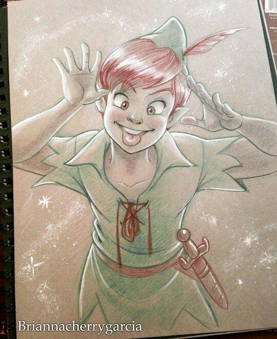 Peter Pan by Brianna Garcia. Too cute!