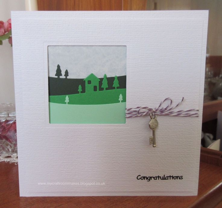 My Craft Room Makes: New Home Card