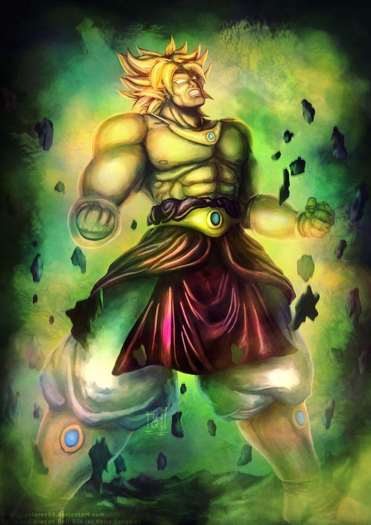 Legendary Super Saiyan | Dragon Ball Z | Pinterest