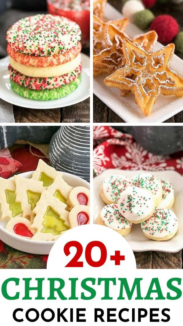 20 Christmas Cookie Recipes In 2020 Cookie Exchange Recipes Cookies Recipes Christmas Cookie Recipes