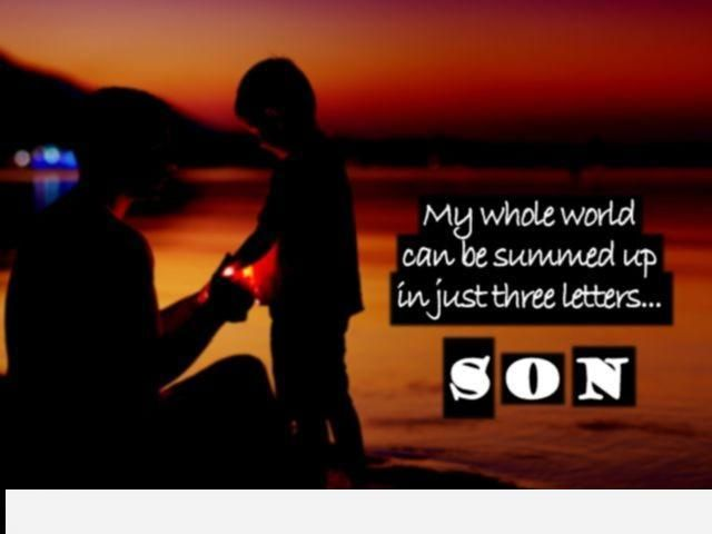 Happy Birthday Mom Quotes From Son In Hindi: Best 25+ Birthday Wishes For Son Ideas On Pinterest