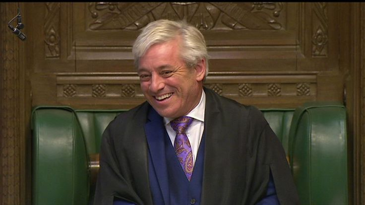 John Bercow: MPs don't need to wear ties - BBC News