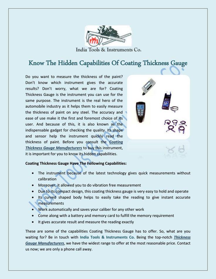 Best Portable Hardness Tester Images On   Instruments