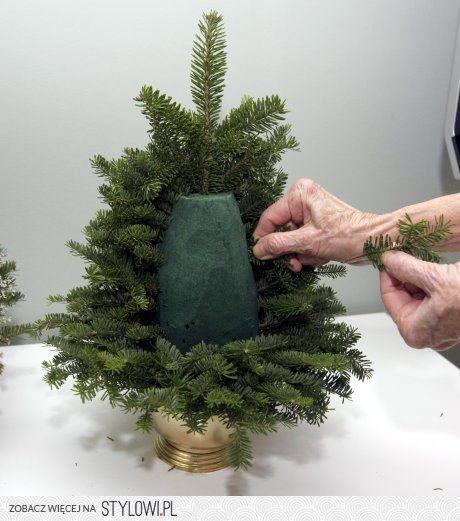 DIY natural Christmas tree Stylowi.pl - Odkrywaj, kolekcjonuj, kupuj