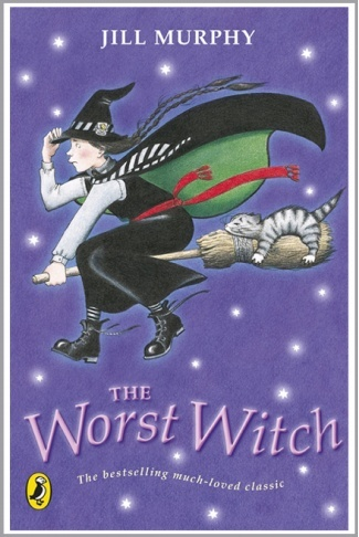 The Worst Witch by Jill Murphy. I don't think this was the version I read back in the very early 1980s, but never mind