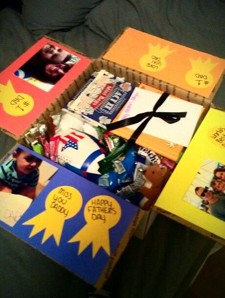 Fathers day package, deployment