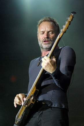 Sting (2008) - during the second leg of The Police' reunion tour.
