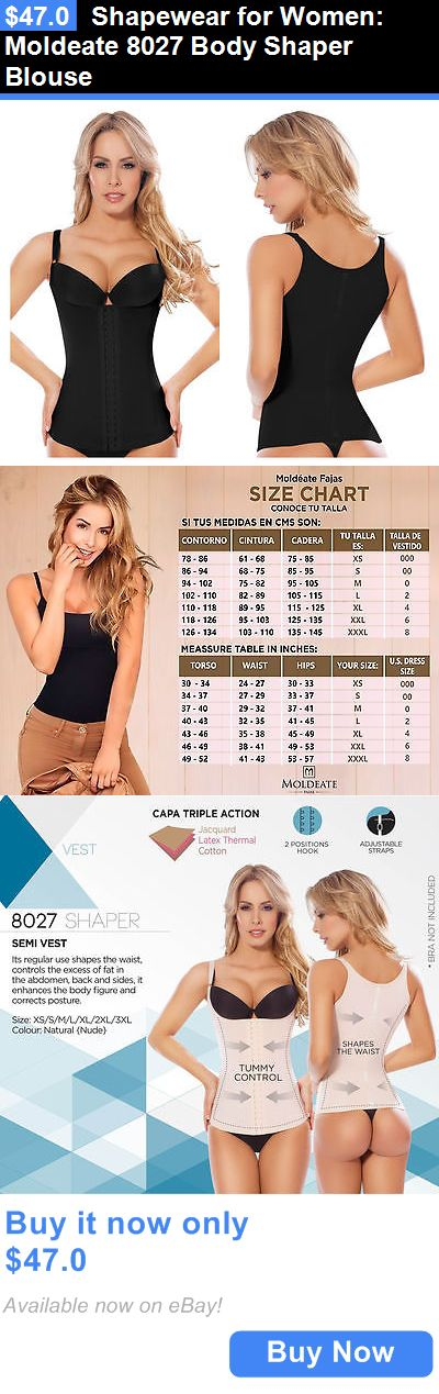 Women Shapewear: Shapewear For Women: Moldeate 8027 Body Shaper Blouse BUY IT NOW ONLY: $47.0