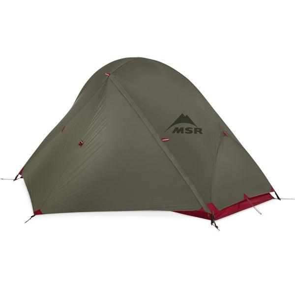Access 1 Green MSR - Tente 4 saisons ultra légère une personne. Dispon en 2 de la même couleur (gris vert). 460 et 540€