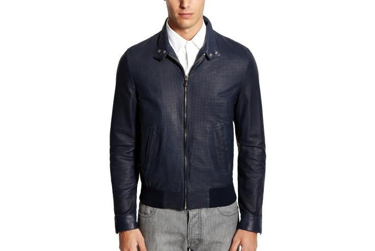 #BallySuitcaseStory - leather jacket