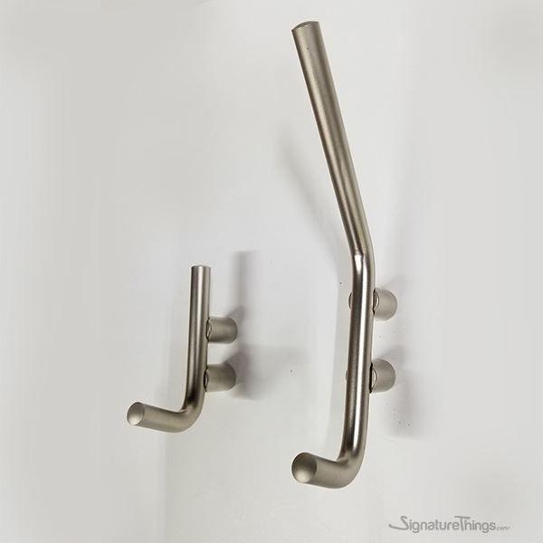 Brass Single Wall Hook Front Mounted Coat Hook Towel Hook