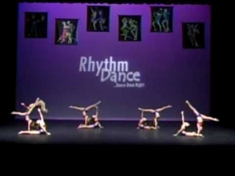 Acro Dance Gymnastics Dance Competition Group Performance - Mini Wonders