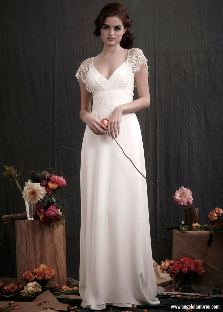 Colette ‹ Angelo Lambrou :: Couture Gowns for Wedding, Evening & Cocktail - Colette Wedding Gown by Angelo Lambrou