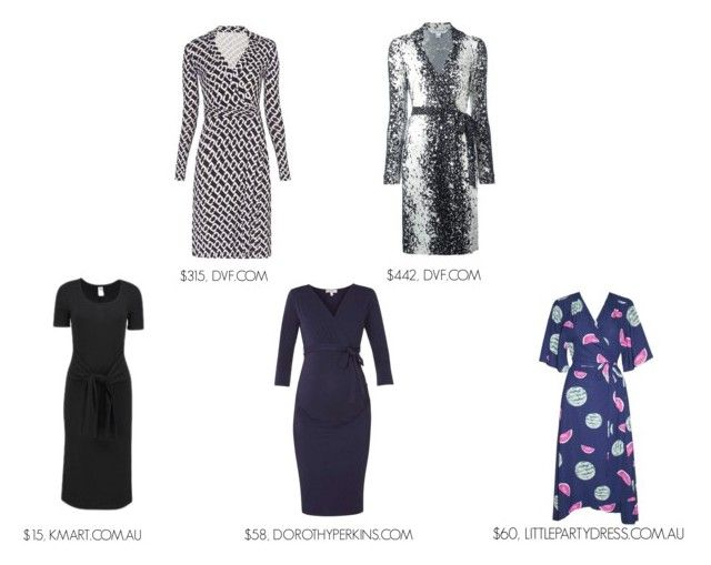 """""""THE TIMELESS WRAP DRESS"""" by maimmelbourne on Polyvore featuring Diane Von Furstenberg and Dorothy Perkins"""