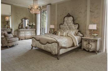 aico platine de royale 4pc panel bedroom set in antique platinum in rh pinterest com bedroom furniture discounts reviews bedroom furniture discounts complaints