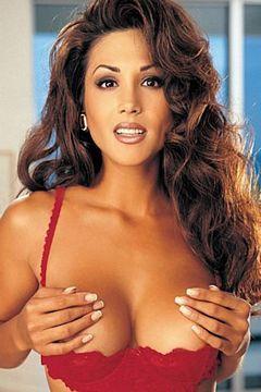 Massive tits on bean pole skinny