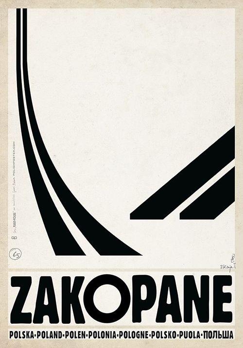 Zakopane, Polish Promotion Poster