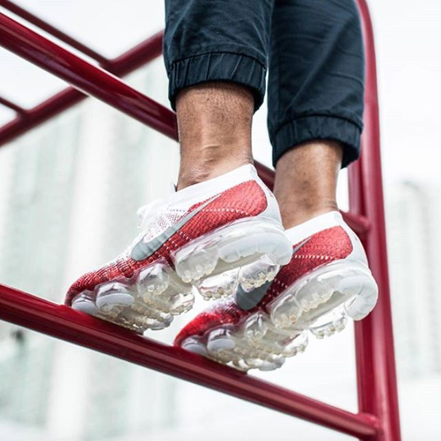 Did anyone else get involved with the NIKEiD VaporMax?  : @andre_wayang  via SNEAKER FREAKER MAGAZINE OFFICIAL INSTAGRAM - Fashion  Advertising  Culture  Beauty  Editorial Photography  Magazine Covers  Supermodels  Runway Models