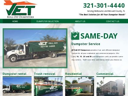 JET Roll Off Dumpsters