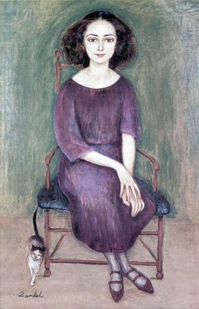 Nils Elias Christoffer von Dardel (sign: Nils Dardel) (Swedish, 1888 – 1943) - Gaby, 1925