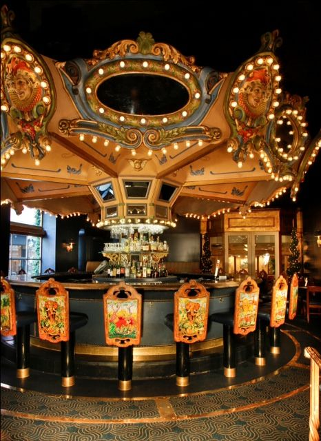 Hotel Monteleone's Carousel Bar - New Orleans, Louisiana