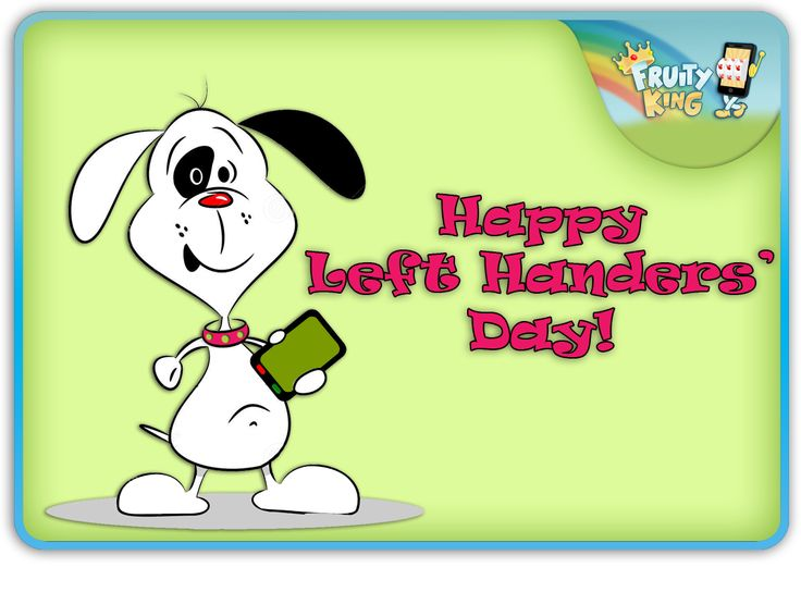 Happy #LeftHandersDay ! Celebrate this day with our amazing mobile casino games.http://goo.gl/q9fWVO