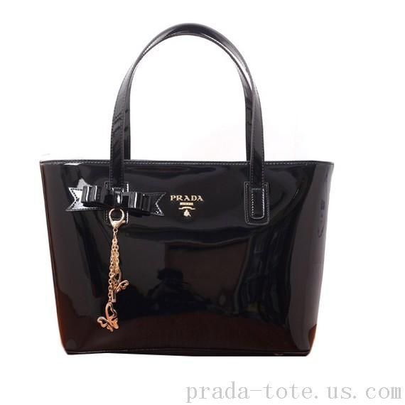 Authentic #Prada Patent Leather Tote Bag onnline sale