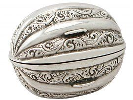 Sterling Silver Nutmeg Grater - Antique Victorian