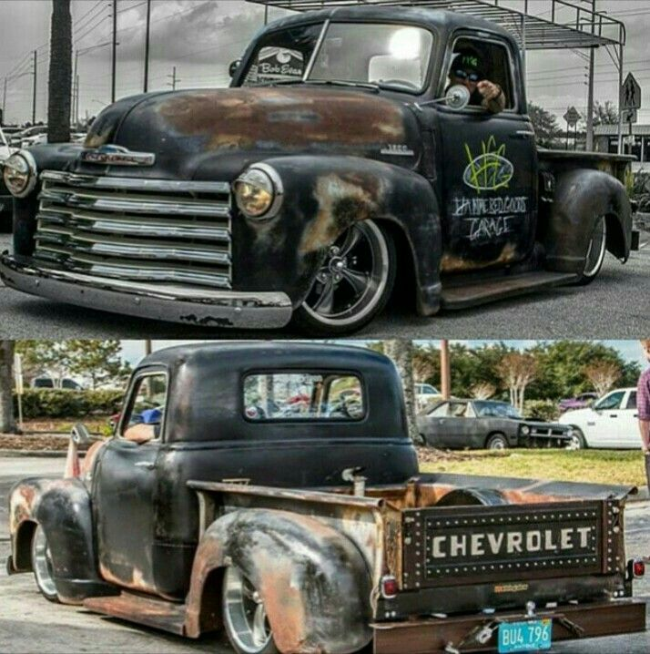 161 best rat rod trucks images on Pinterest | Vintage cars, Rat rod ...