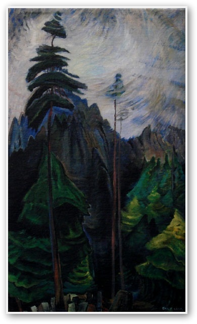 Emily Carr Mountain Forest