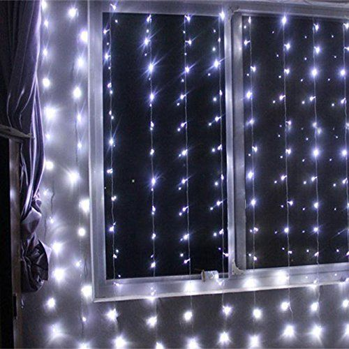 GBB 24V 600LED Party Curtain String Lights With Tail Plug For Christmas & Halloween Wedding decoration. (White 6m x 3m/19.6ft x 9.8ft) Xmas Sale ! Shop now for best price of season!!!  http://www.fivedollarmarket.com/gbb-24v-600led-party-curtain-string-lights-with-tail-plug-for-christmas-halloween-wedding-decoration-white-6m-x-3m19-6ft-x-9-8ft-xmas-sale-shop-now-for-best-price-of-season/