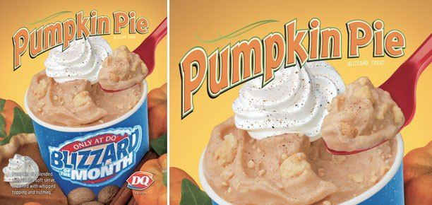 DQ Pumpkin Pie Blizzard copycat recipe