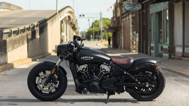 This Is The New 2018 Indian Scout Bobber