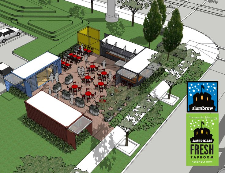 Slumbrew to Unveil Beer Garden at Assembly Row