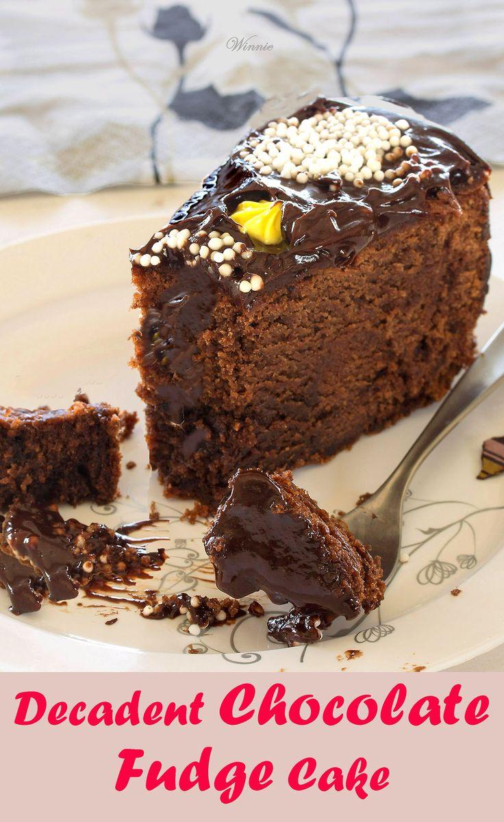 Decadent Chocolate Fudge Cake.   http://www.winnish.net/2012/04/88/