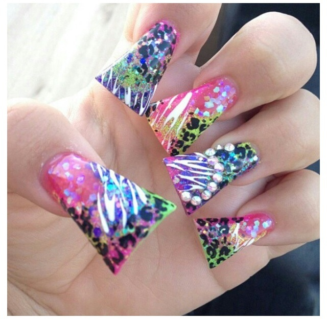 19 Best Images About Ugly Nails On Pinterest Nail Art