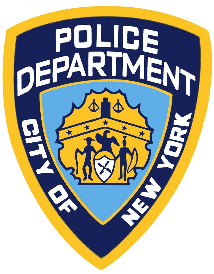 Police Department City Of New York Badge