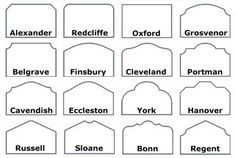 Headboard shape glossary- I used this when we were deciding on a shape for our tufted headboard.