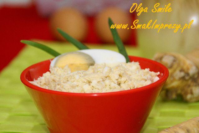 Chrzan wielkanocny - przepis | Kulinarne przepisy Olgi Smile