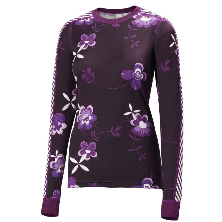 Helly Hansen W Multi Graphic Long Sleeve Baselayer. Sh. 75,00 € #hellyhansen #baselayer