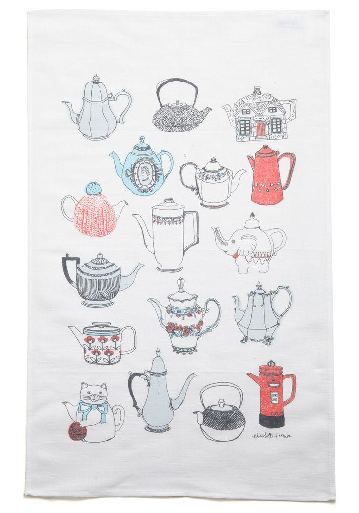tea time towelFun Recipe, Teas Towels, Steep Teas, Teas Pots, Teapots Towels, Home Decor, Sugar Sweets, Teas Art, Teas Stuff